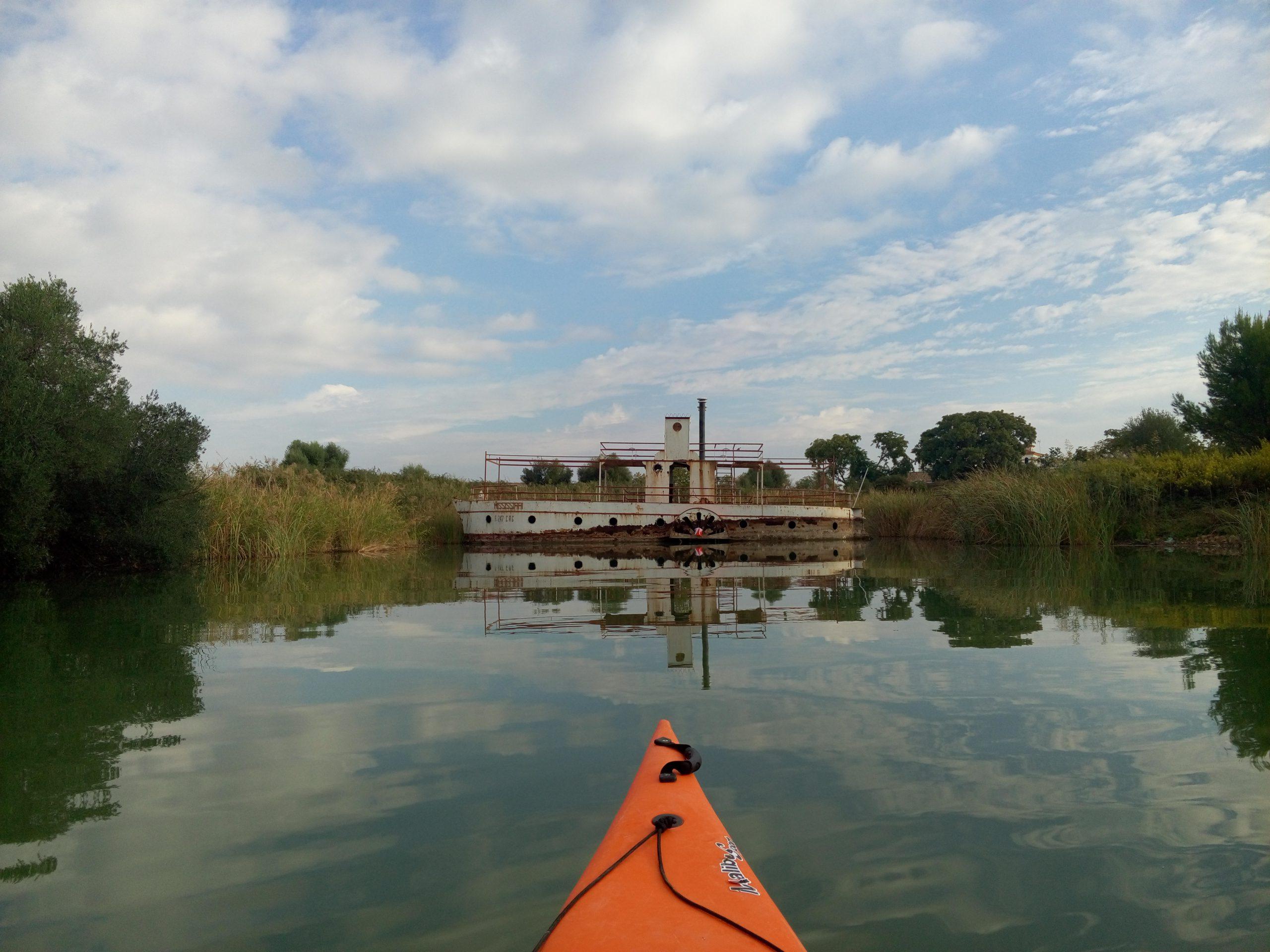 Paseo en Kayak por el Embalse de Arcos Imagen