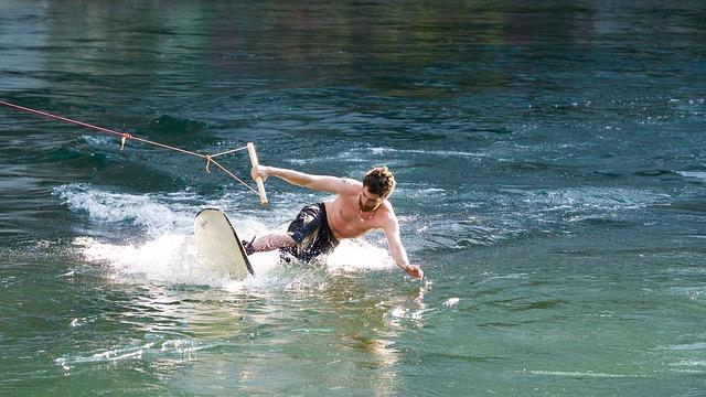 Wakeboard en el Lago de Arcos Imagen